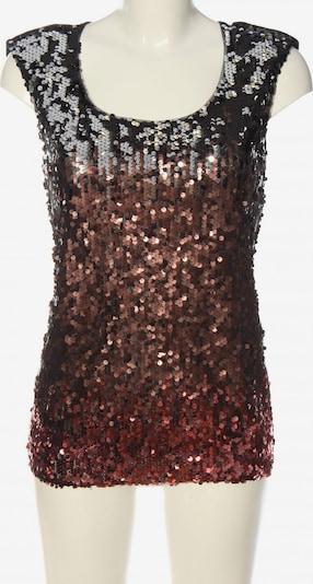 Oasis Kurzarm-Bluse in XS in bronze / schwarz, Produktansicht