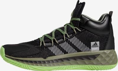 ADIDAS PERFORMANCE Basketballschuh 'Pro Boost Mid' in schwarz, Produktansicht