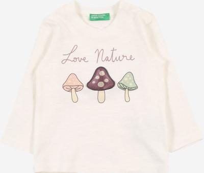 UNITED COLORS OF BENETTON Shirt in mischfarben / rosa, Produktansicht