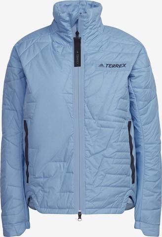 ADIDAS PERFORMANCE Outdoor Jacket 'Myshelter' in Blue