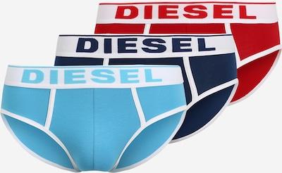 DIESEL Slip 'ANDRE' in marine / hellblau / hellrot / weiß, Produktansicht