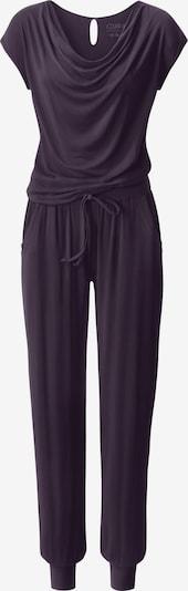 CURARE Yogawear Jumpsuit in lila, Produktansicht