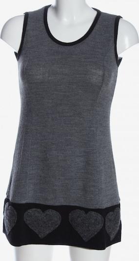 RINASCIMENTO Strickweste in M in hellgrau / schwarz, Produktansicht