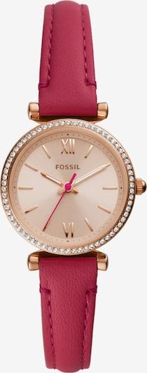 FOSSIL Analoog horloge in de kleur Goud / Pitaja roze, Productweergave