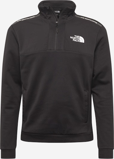 THE NORTH FACE Camiseta deportiva en negro / blanco, Vista del producto