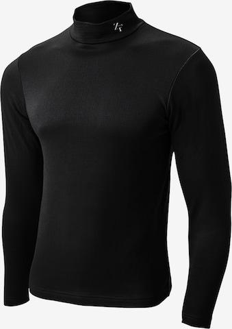 T-Shirt fonctionnel ' HEATRUB MOVE ' ZEROFIT en noir