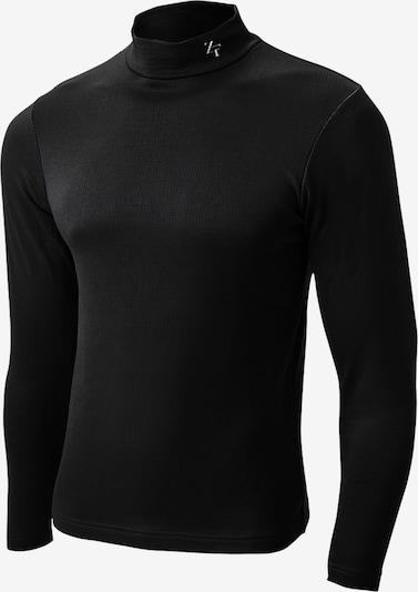 ZEROFIT Functioneel shirt ' HEATRUB MOVE ' in de kleur Zwart, Productweergave