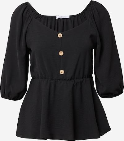 Hailys Bluse 'Lanny' in schwarz, Produktansicht