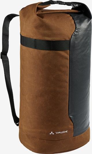 VAUDE Sportrugzak 'Tecogo' in de kleur Karamel / Zwart / Wit, Productweergave
