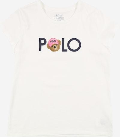 POLO RALPH LAUREN Koszulka w kolorze atramentowy / brązowy / różowy / białym, Podgląd produktu