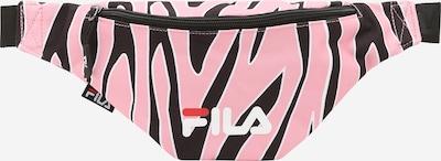 FILA Gürteltasche in rosa / schwarz / weiß, Produktansicht