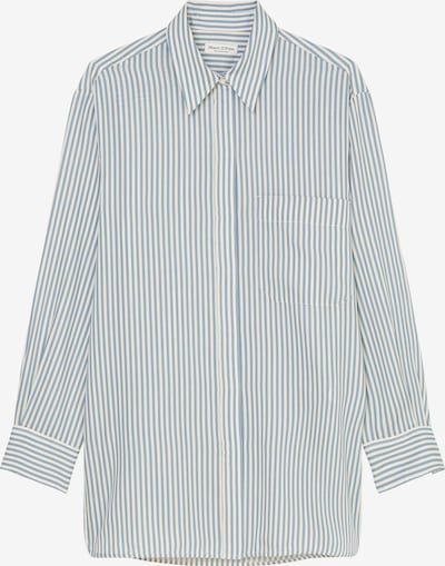 Marc O'Polo Blouse in Light blue / White, Item view