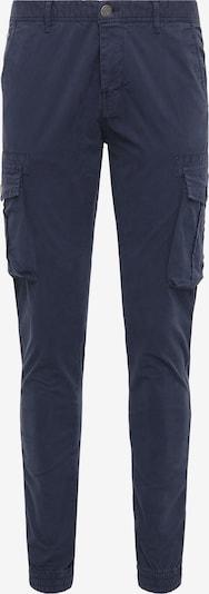 MO Pantalon cargo en bleu, Vue avec produit