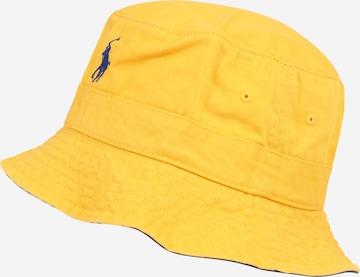 Polo Ralph Lauren Müts, värv kollane