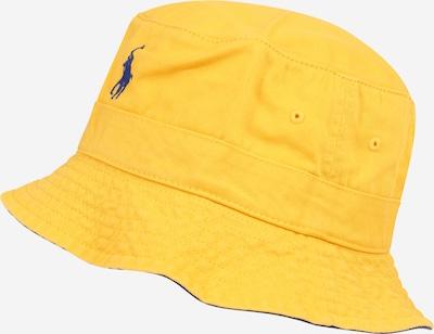 POLO RALPH LAUREN Шапка с периферия в тъмносиньо / жълто, Преглед на продукта