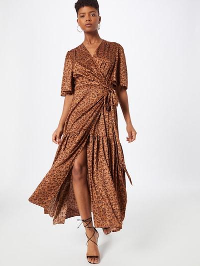 Stella Nova Kleid 'Tyra' in beige / braun, Modelansicht