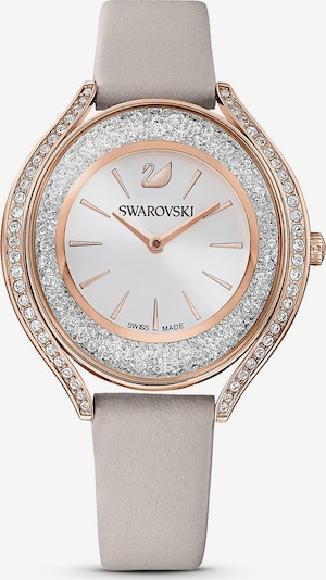 Swarovski Analog watch in rose gold / grey / silver / transparent, Item view