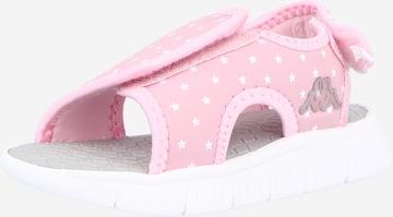 KAPPA Sandaalid 'KAYO', värv roosa