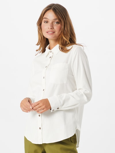 s.Oliver Blouse in de kleur Wit, Modelweergave