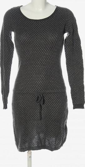 H&M Strickkleid in S in hellgrau / weiß, Produktansicht
