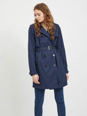 VILA Between-Seasons Coat 'VIMOVEMENT' in Blue