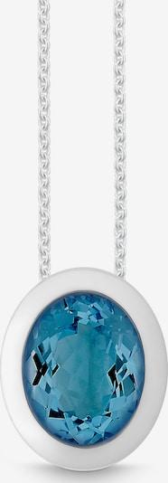 Quinn Damen-Kette in blau / silber, Produktansicht