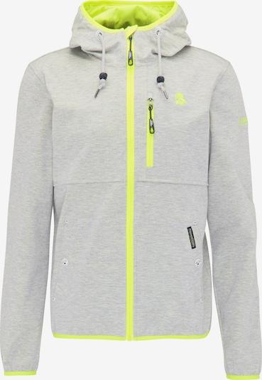 Schmuddelwedda Functionele jas in de kleur Geel / Grijs gemêleerd, Productweergave
