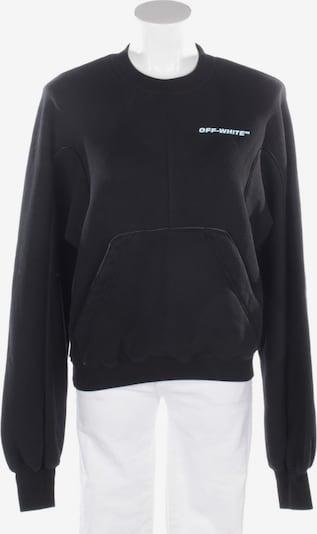 Off-White Sweatshirt / Sweatjacke in XL in schwarz, Produktansicht