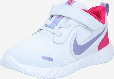 NIKE Sportschuh 'Revolution 5' in flieder / pink / weiß, Produktansicht