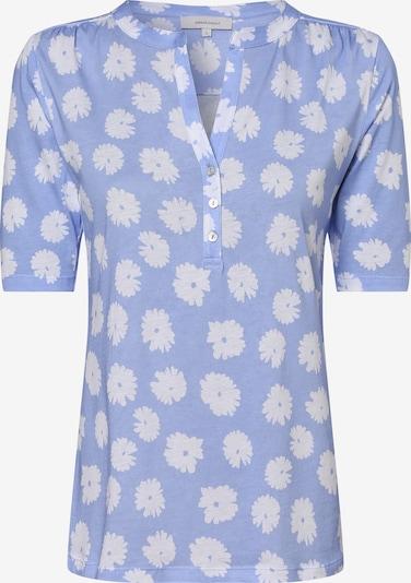 apriori Shirt in hellblau / apricot, Produktansicht
