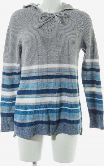 CECIL Kapuzenpullover in XS in blau / neonblau / hellgrau, Produktansicht