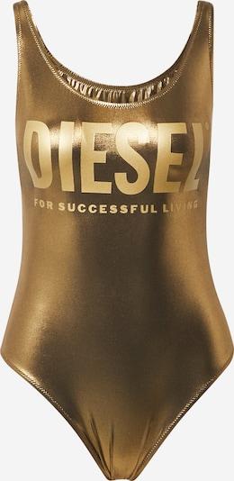 DIESEL Enodelne kopalke 'Lia' | pesek / zlata barva, Prikaz izdelka