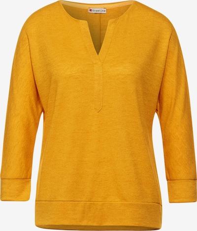 STREET ONE Shirt in gelb, Produktansicht