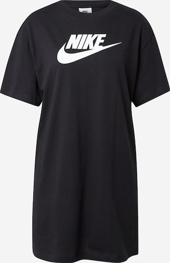 Nike Sportswear Shirts i sort / hvid, Produktvisning