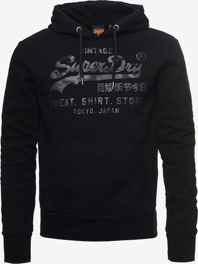 Superdry Sweatshirt 'Vintage' in de kleur Grijs / Antraciet / Zwart, Productweergave
