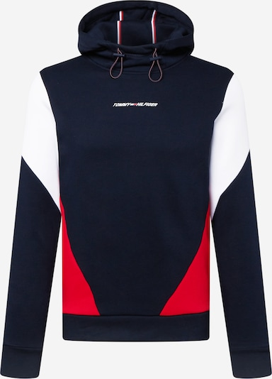 Hanorac sport 'BLOCKED SEASONAL HOODY' Tommy Sport pe albastru închis, Vizualizare produs