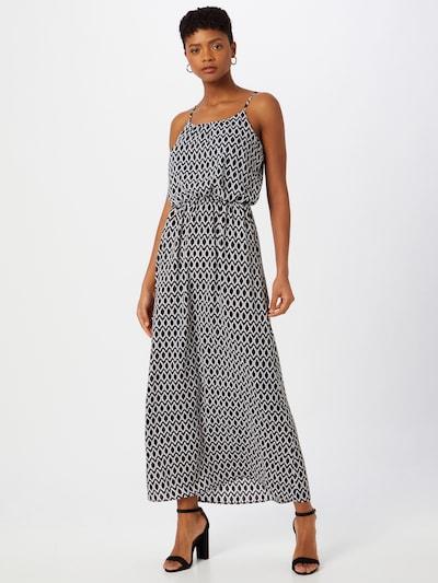 ONLY Robe d'été 'Winner' en noir / blanc, Vue avec modèle