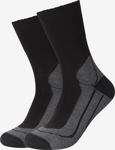 camano Socken 'Outdoor' in schwarz, Produktansicht