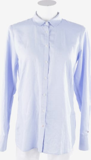 TOMMY HILFIGER Bluse in L in hellblau / weiß, Produktansicht