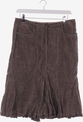 Luisa Cerano Skirt in XL in Brown