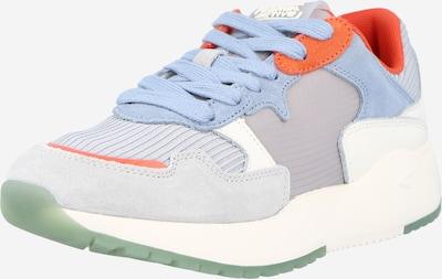 CAMEL ACTIVE Sneaker 'Ramble' in hellblau / hellgrau / orange, Produktansicht