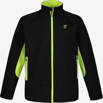 JP1880 Tussenjas in de kleur Neongeel / Zwart, Productweergave