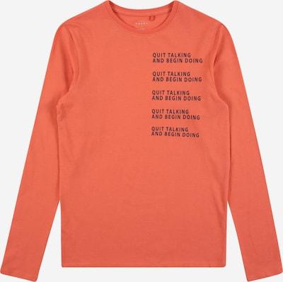 NAME IT Shirt 'Vux' in navy / apricot, Produktansicht