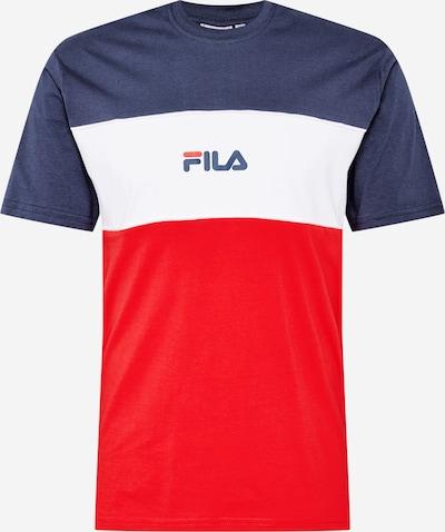 FILA Shirt 'Anoki' in dunkelblau / rot / weiß, Produktansicht