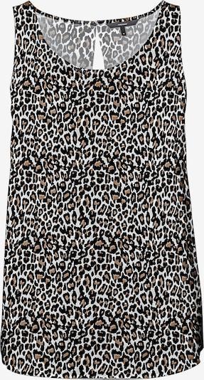 Camicia da donna 'Simply' VERO MODA di colore marrone / grigio chiaro / nero, Visualizzazione prodotti