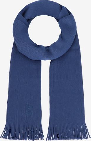Écharpe 'Albas' BOSS en bleu