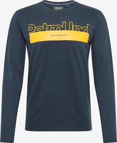 Petrol Industries Shirt in de kleur Navy / Geel, Productweergave