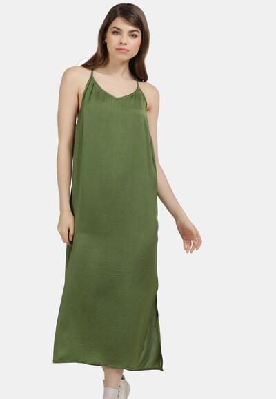 MYMO Kleid in grasgrün, Modelansicht