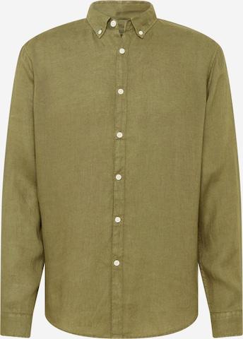 ESPRIT Button Up Shirt in Green
