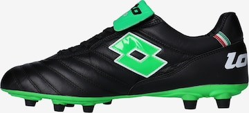 LOTTO Soccer Cleats in Black